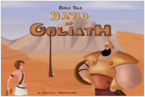 David and Goliath TabTale iPad App