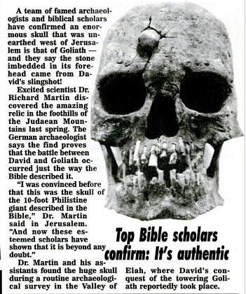 Weekly World News, 25 May 1993