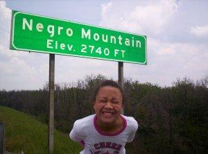 A Negro on Negro Mountain