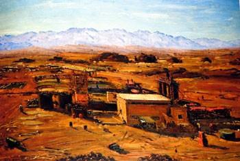 Ludwig Blum - Timna, Copper Mines (1957)