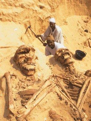Giant skeletons