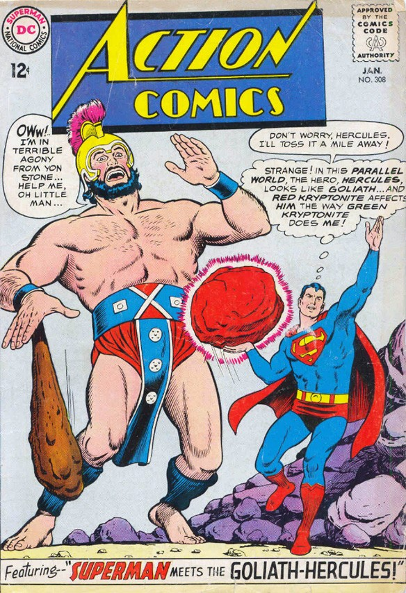 Goliath-Hercules, Action Comics #308 (January 1964)