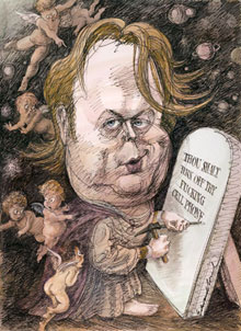 Christopher Hitchens: God is not great, but the King James Version is just super!