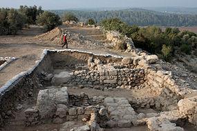 Khirbet Qeiyafa western gate