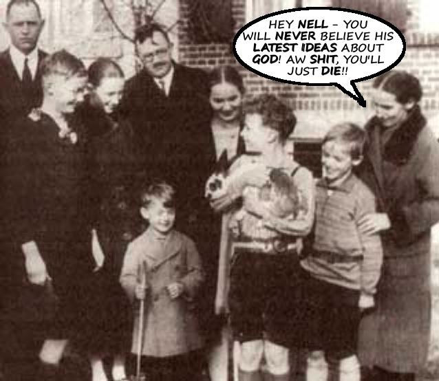Karl Barth, Nelly, and Charlotte von Kirschbaum
