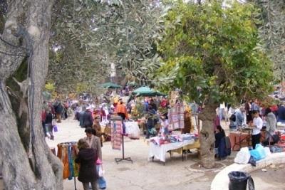 The annual street fair on Emek Refaim Street