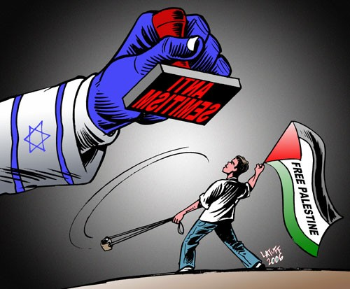 """Antisemitism"" - Latuff"