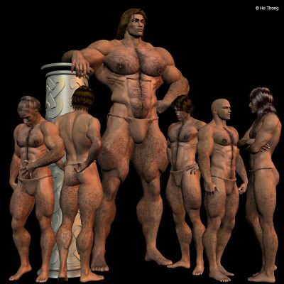 Goliath: weighs the same as five Philistine men