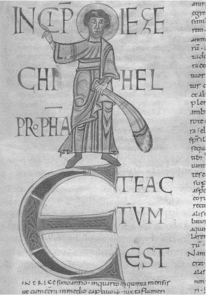 Ezekiel in Palat. 386, fol. 141r, Parma, Biblioteca Palatina