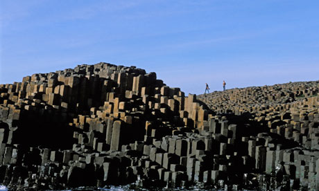 The Giant's Causeway, Northern Ireland: either 60 million or 6000 years old