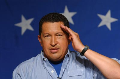 """Who threw that fucking pebble at me?"" asks Hugo Chavez, as his election battle with Henrique Capriles gets biblical"