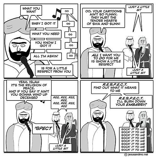 Jesus and Mo - respect