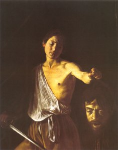 Caravaggio - Head of Goliath 2