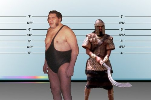 Goliath versus Andre the Giant