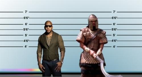 Goliath versus Flo Rida