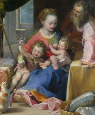 Federico Barocci, 'The Madonna of the Cat' (ca. 1575)