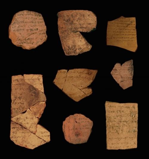 Arad ostraca, ca. 600 BCE